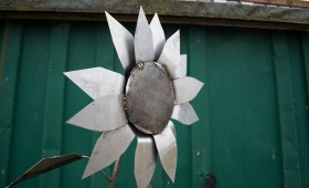 Metal Sunflower