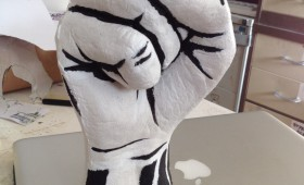 The Angerfist – A foam filled latex fist
