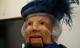Princess Beatrix of the Netherlands Puppet Progress