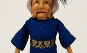 Princess Beatrix of the Netherlands Puppet