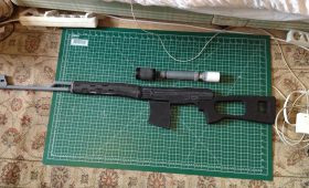 SVD Dragunov Progress